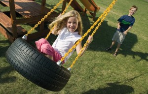 4 Chain Tire Swing
