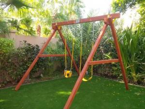 Free Standing garden Swings
