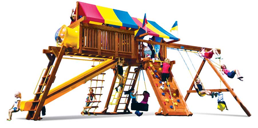 Castle Swing Set Systems For Kids Available In All Types